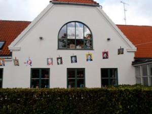 Valgplakater i Kulturhus Måløv