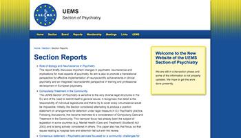 UEMS Psychiatry
